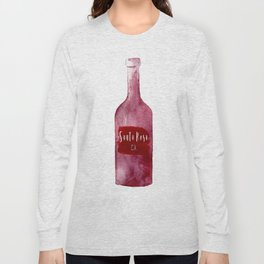 Santa Rosa, CA - Wine Country Love Long Sleeve T-shirt