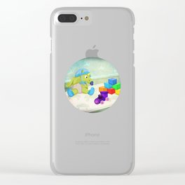 Planes, Trains, and Automobiles V02 Clear iPhone Case