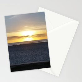 San Diego Beach Sunset (lifeguard tower) Stationery Cards