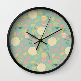 Yummy Pattern Wall Clock