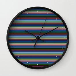 Vintage T-shirt No6 Wall Clock