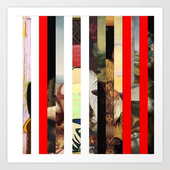 Stars in stripes 4+ Art Print