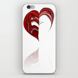 Love formation iPhone Skin
