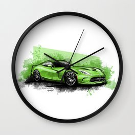 Dodge Viper GTS Wall Clock