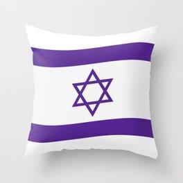 israel flag Throw Pillow