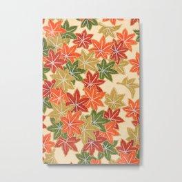 maple leaf 89 Metal Print