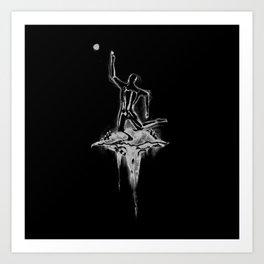 F4D3D 5UN (Faded Sun) Art Print