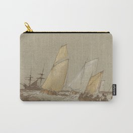 """J.M.W. Turner """"Shipping"""" Carry-All Pouch"""