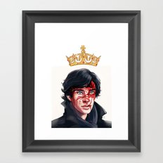 The Fake Genius Framed Art Print