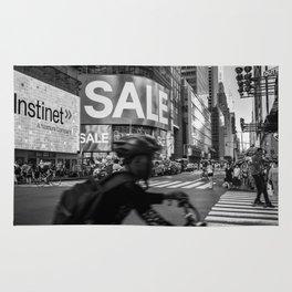 Times Square street 2018 Rug