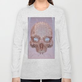 golden skull Long Sleeve T-shirt