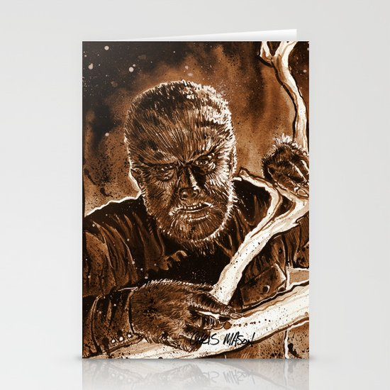The Wolfman Stationery Cards