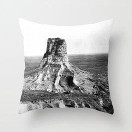 Jail Rock 1897 Throw Pillow