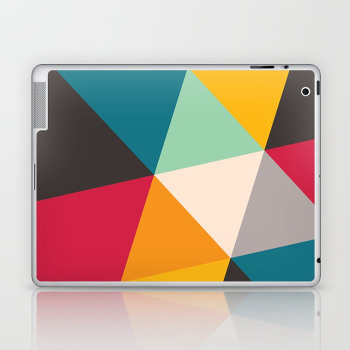 Geometric Triangles Laptop & iPad Skin