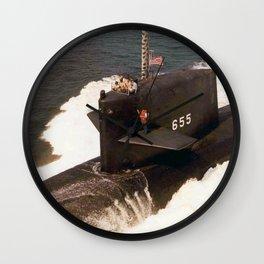 USS HENRY L. STIMSON (SSBN-655) Wall Clock