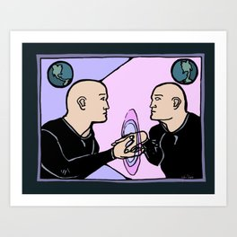 Parallel Self Art Print