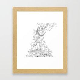 Edena Framed Art Print