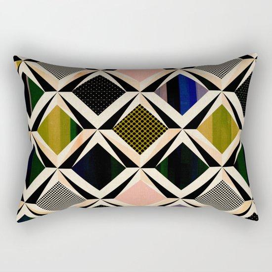 discovering diamonds Rectangular Pillow