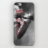 led zeppelin iPhone & iPod Skins featuring Zeppelin by Blaz Rojs