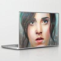 emma watson Laptop & iPad Skins featuring Emma Watson by taryndraws2