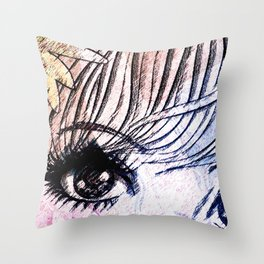 VIRGO / EYE Throw Pillow