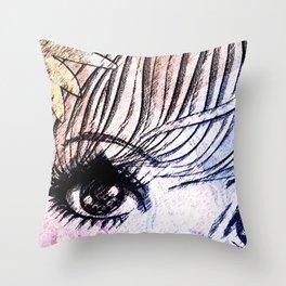 VIRGO / EYE Throw Pillow