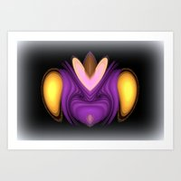 alien Art Prints featuring Alien by Chris' Landscape Images & Designs