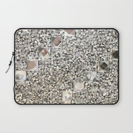 Diamond Chips Pattern Laptop Sleeve