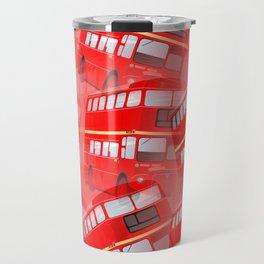 Red London Buses Travel Mug