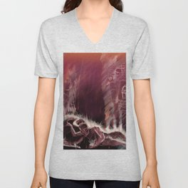 The Burning of Rome Unisex V-Neck