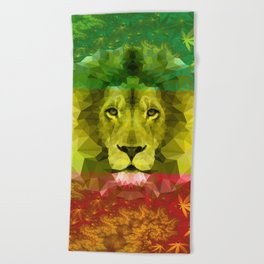 d92de5454adef Rasta Beach Towels | Society6