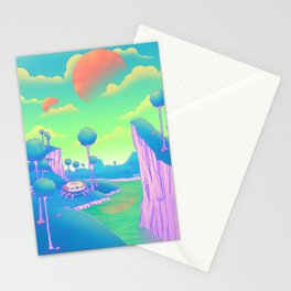 Planet Namek Stationery Cards