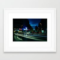 madrid Framed Art Prints featuring MADRID  by Alba Blázquez