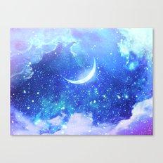 La Lune Canvas Print