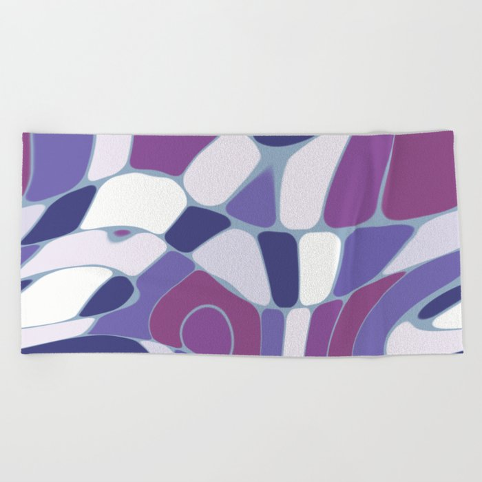 Funky Abstract 3 Beach Towel