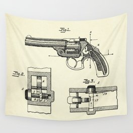 Safety Device for Revolvers-1896 Wall Tapestry
