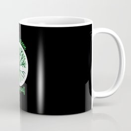 I Wear Green For My Myself Mental Health Coffee Mug