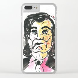 Vincent Vega Clear iPhone Case