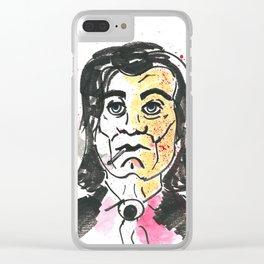 Vincent Vega Clear iPhone Case