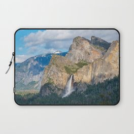 Bridalveil Falls from Tunnel View Laptop Sleeve