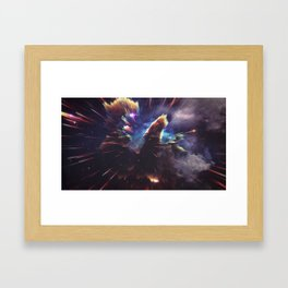 Chaos of the Mind Framed Art Print
