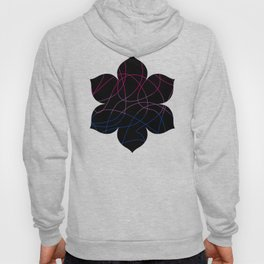 Abstract Threads – Bisexual Pride Flag Hoody