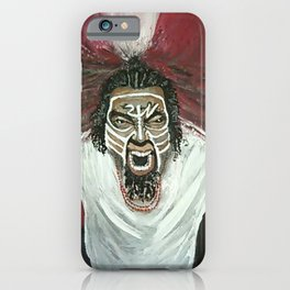 Tech N9ne Painting in Acrylics iPhone Case