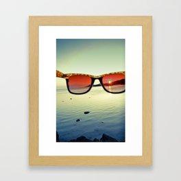Views of Sunset Framed Art Print