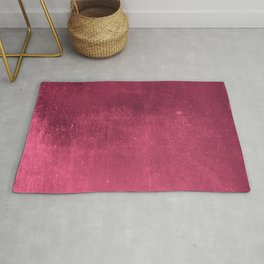Abstract burgundy red gradient wall texture pattern Rug