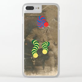 Mr Slinky Clear iPhone Case