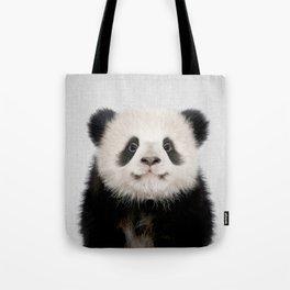 Panda Bear - Colorful Tote Bag