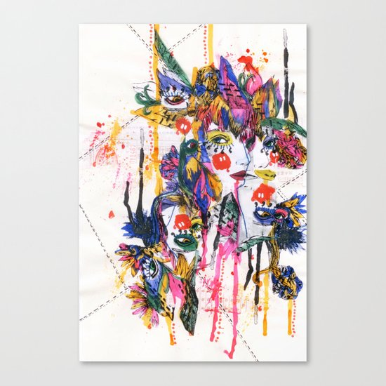 I spy my little eye, something begining with...  Canvas Print