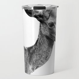 Deer portrait Travel Mug