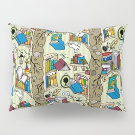 Books: Through the rabbit hole Pillow Sham